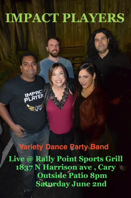 Impact Players Live Music in Cary, NC at RallyPoint Sport Grill