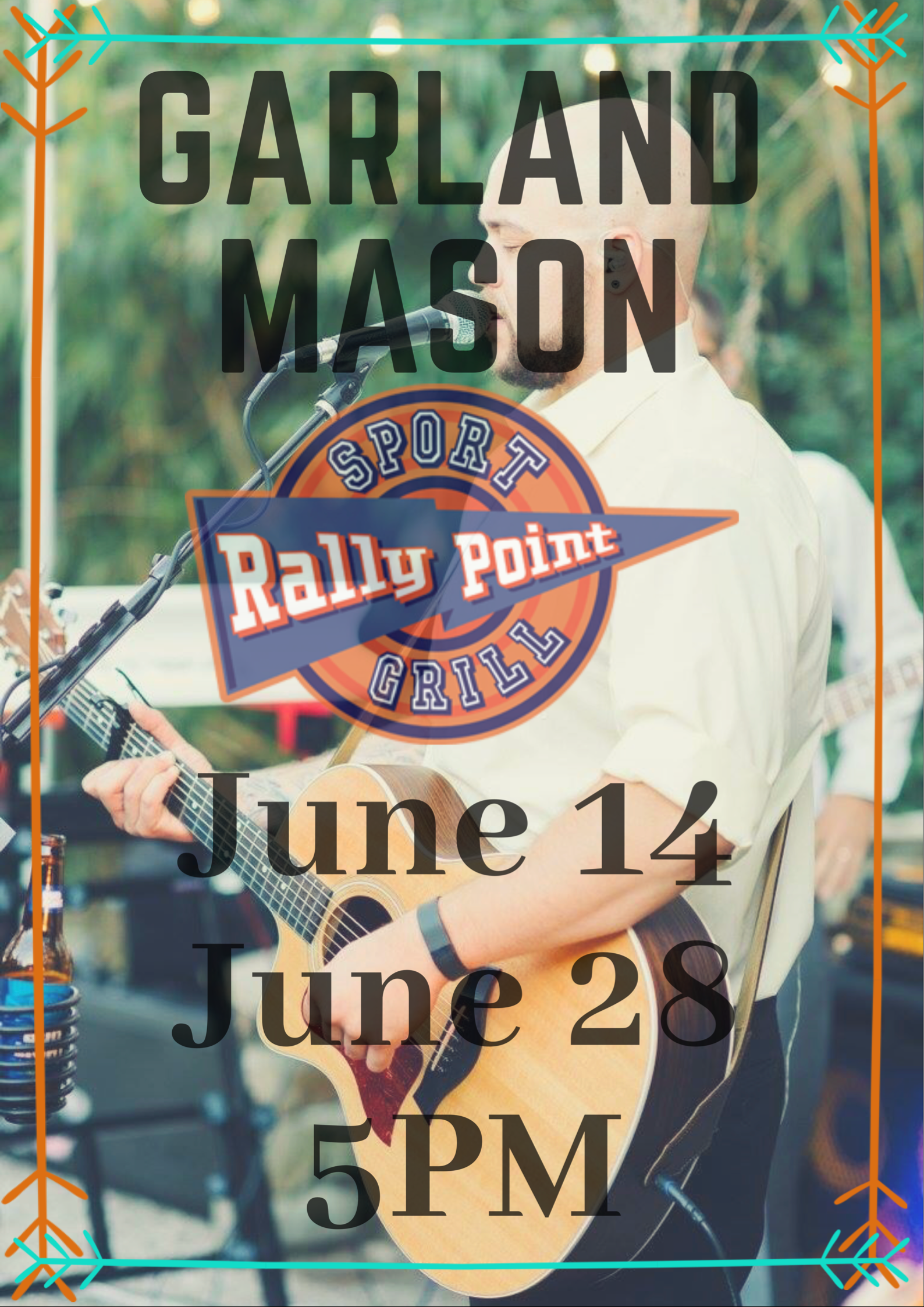 Garland Mason Live Music in Cary, NC at RallyPoint Sport Grill