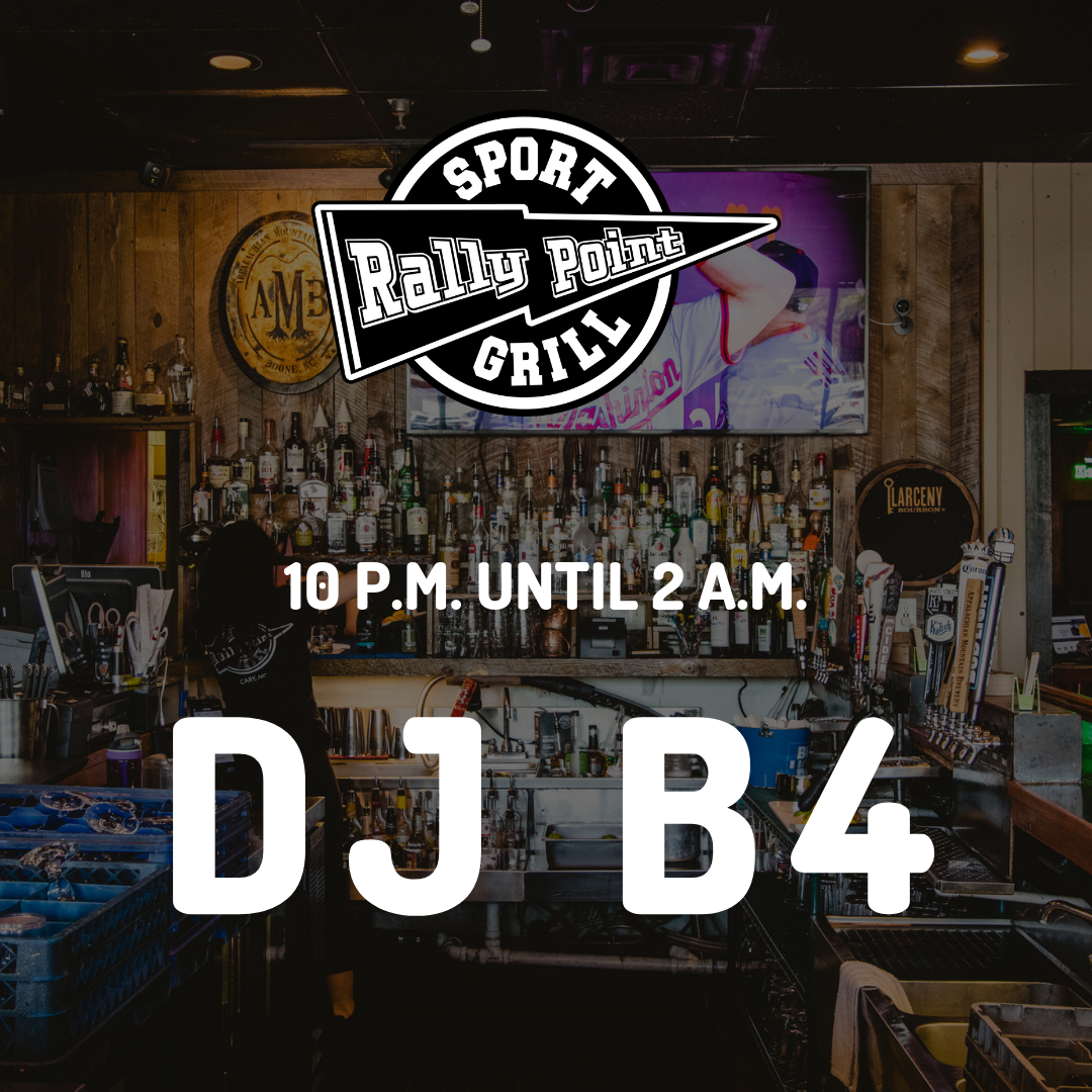 Come move and groove with DJ B4 at RallyPoint