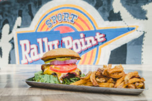 RallyPoint Sport Grill - Cary, NC - Award-winning burgers made fresh in house daily.