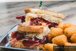 RallyPoint Sport Grill - Cary, NC - Corned beef sandwiches prepared fresh daily.
