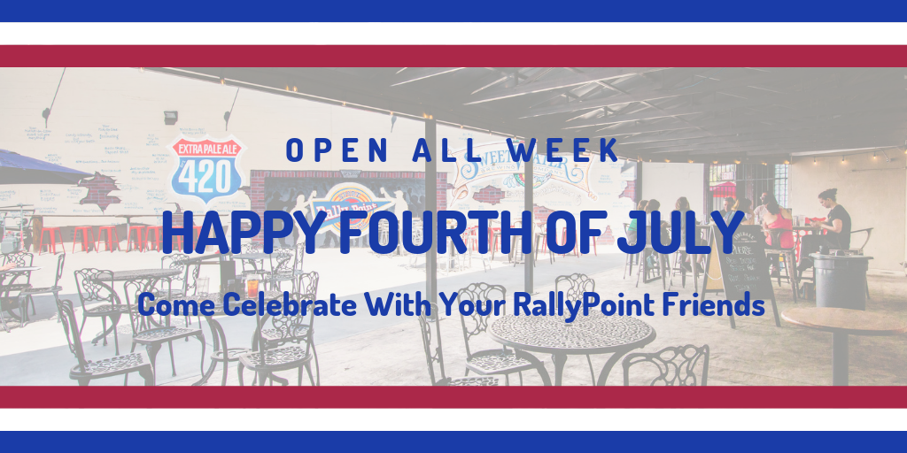 July Happenings at RallyPoint Sport Grill