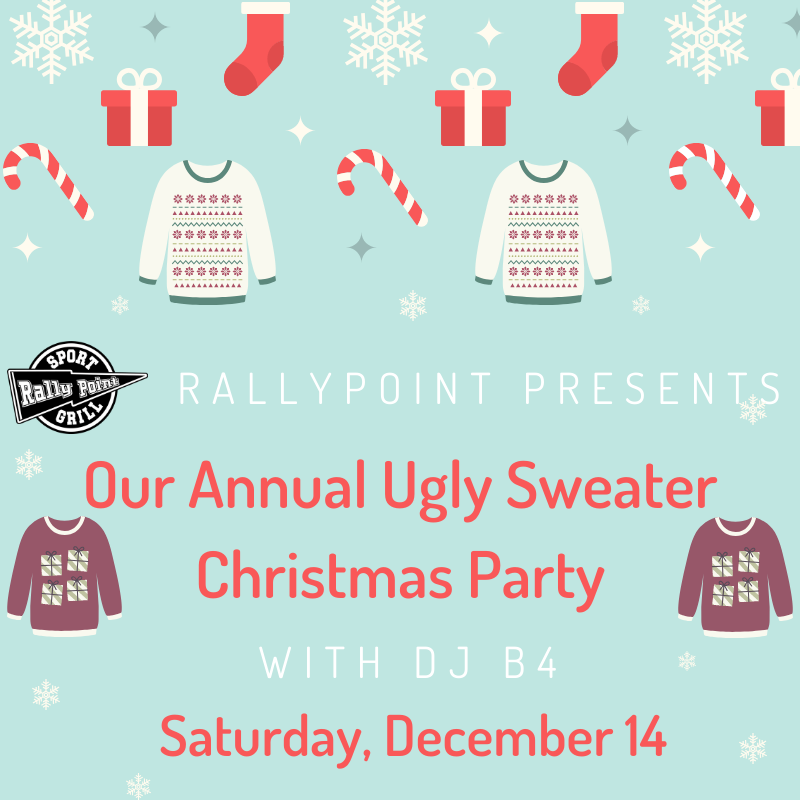 Annual Ugly Sweater Party with DJ B4