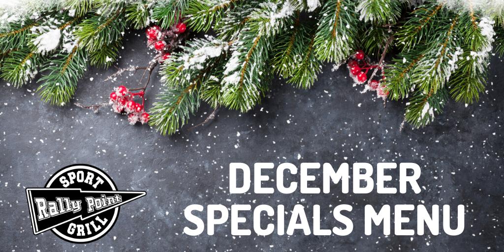 December Specials at RallyPoint