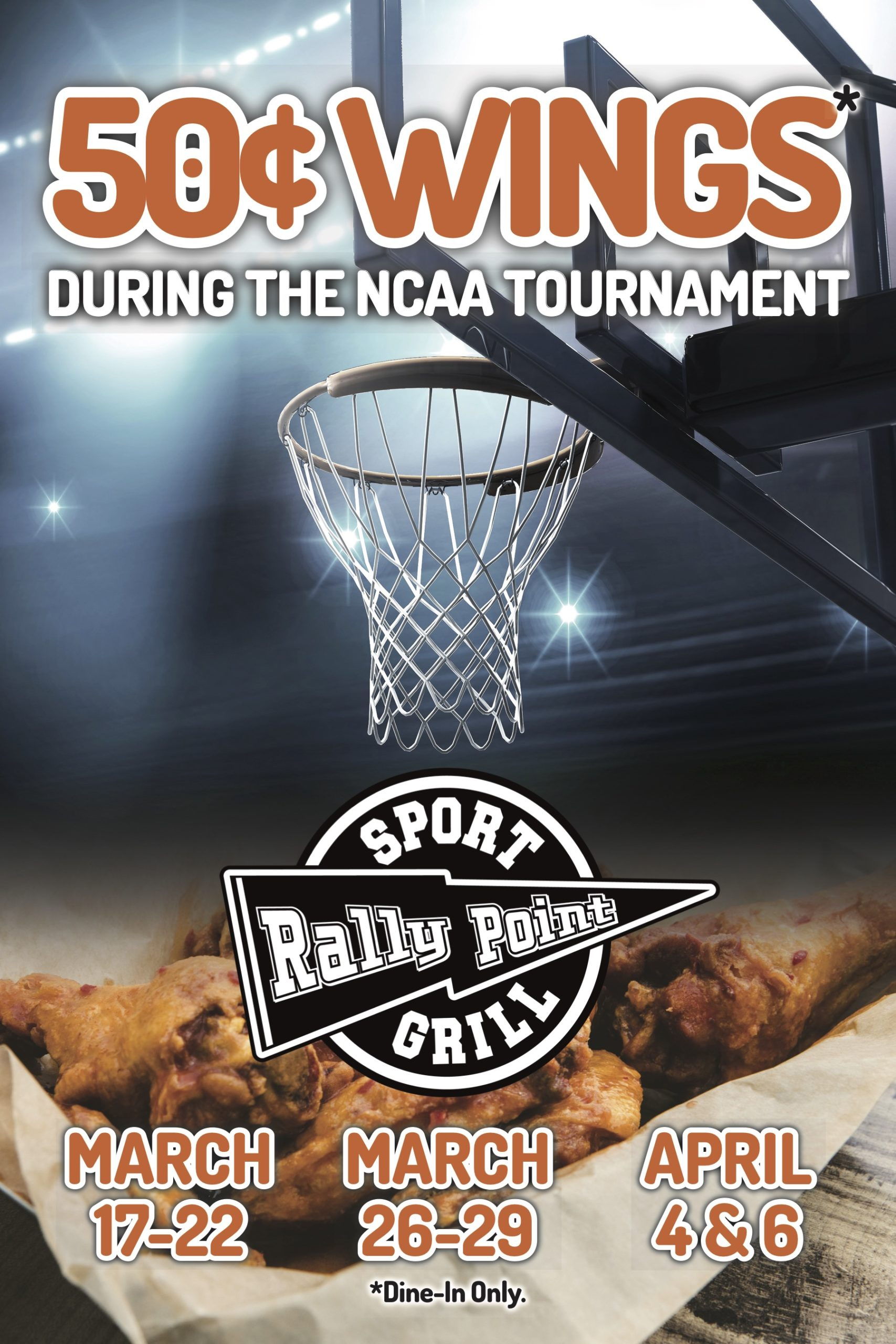 RallyPoint March Madness Specials