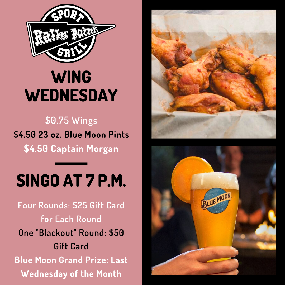 Wing Wednesday at RallyPoint