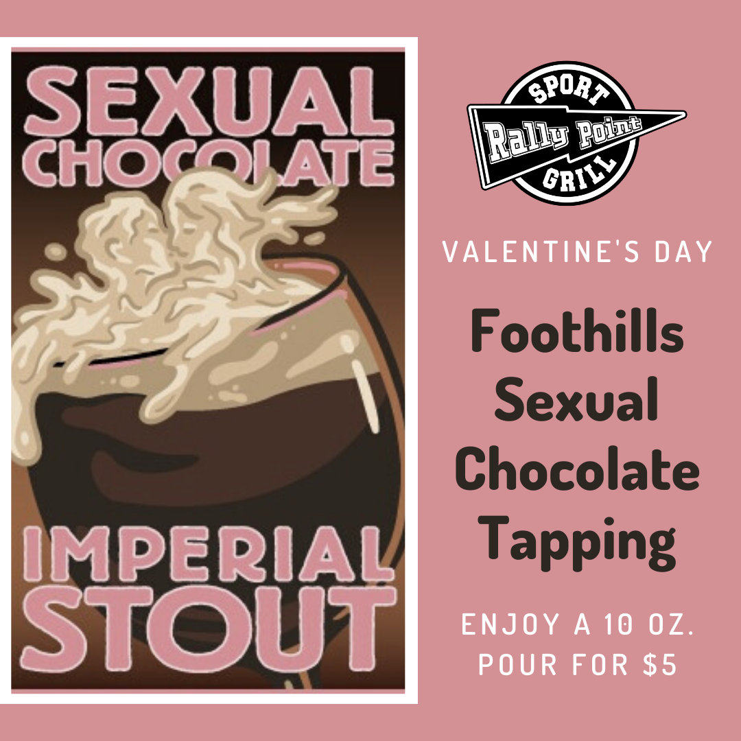 Sexual Chocolate Tapping at RallyPoint