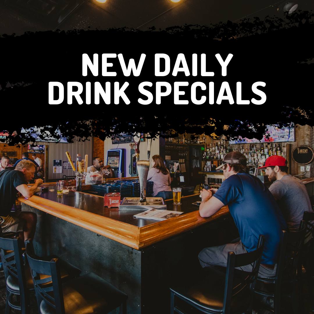 New Daily Drink Specials at RallyPoint