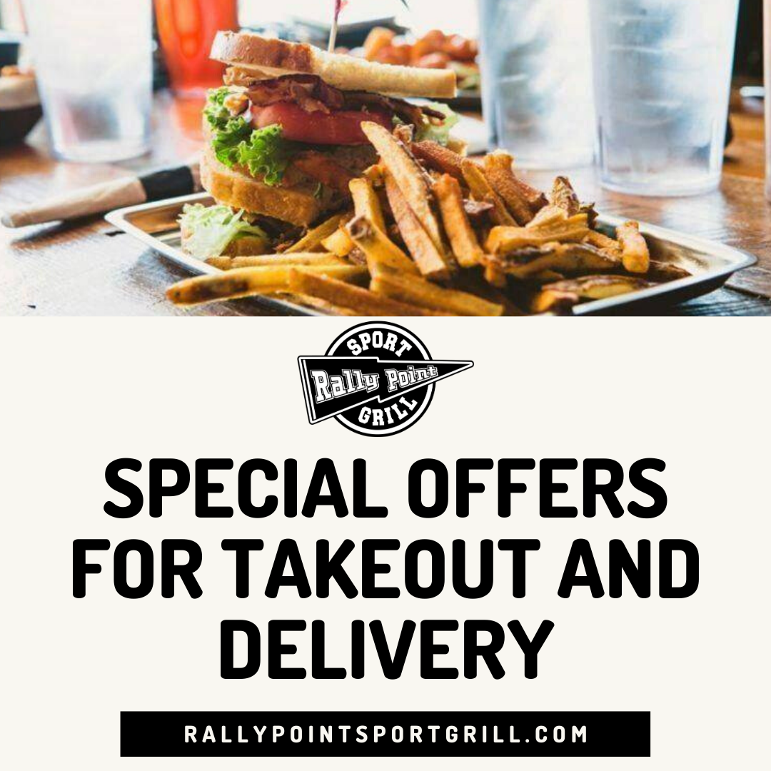 Special Offers for Takeout and Delivery